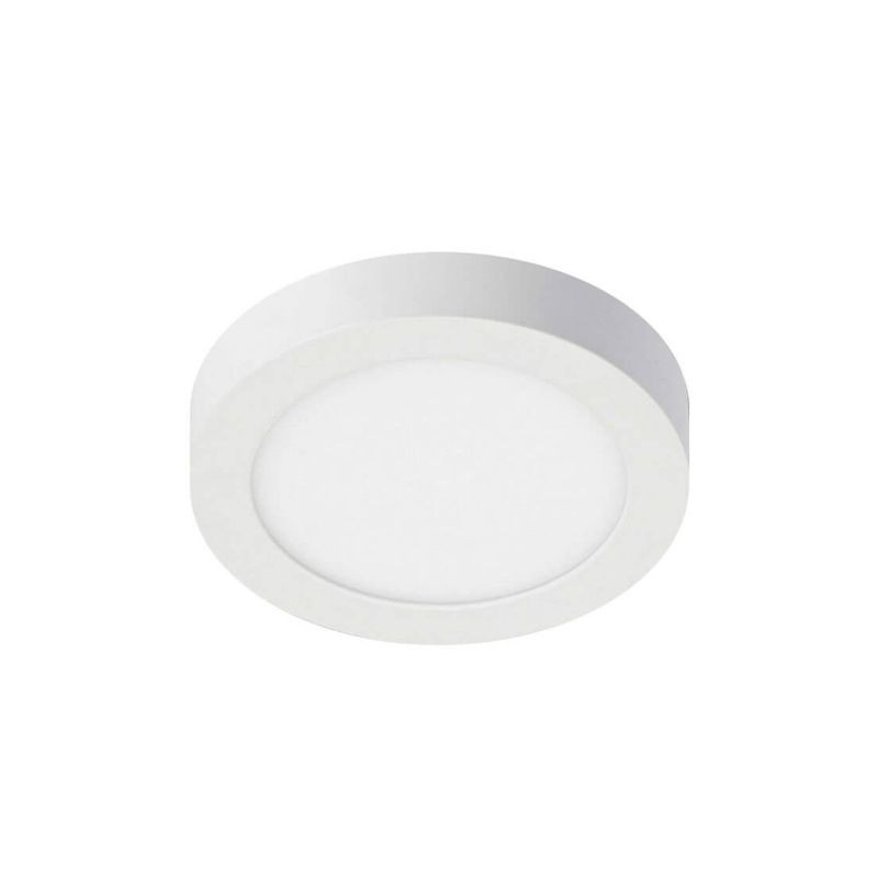 Circular Led Ceiling Light Surface 8w 120º Ip20 Indoor