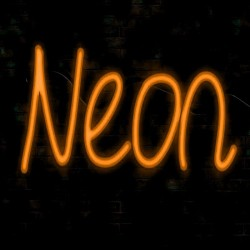 8W Neon LED Flexible 12V Coil 25m  8mm  Orange