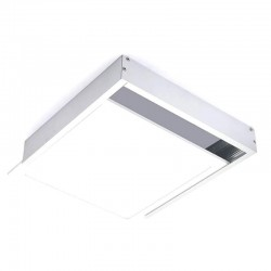 Boitier saillie dalle LED - 60 x 60 blanc