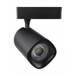 LED Tracklight 40W LYDIA Black 24º CRI +90