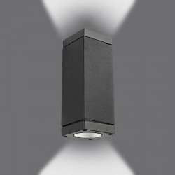 Aplique LED 12W LYON Doble Luz Exterior IP54