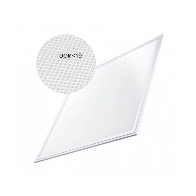 Panel LED 60x60 cm 40W  UGR17  Frame White