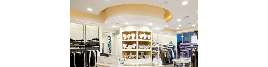 Lighting Stores and Retail for shops