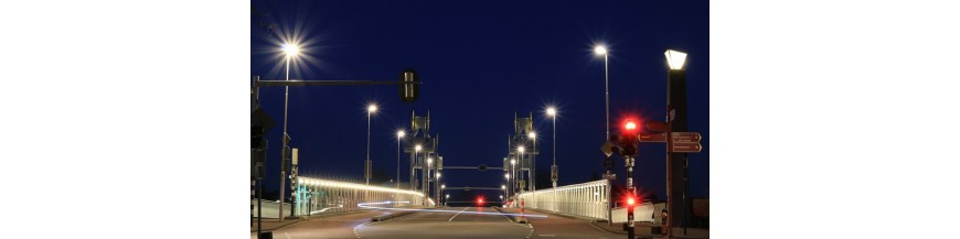 Accessories for LED streetlights