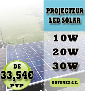Projecteur LED Solar
