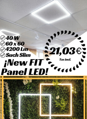¡New Fit Panel LED!