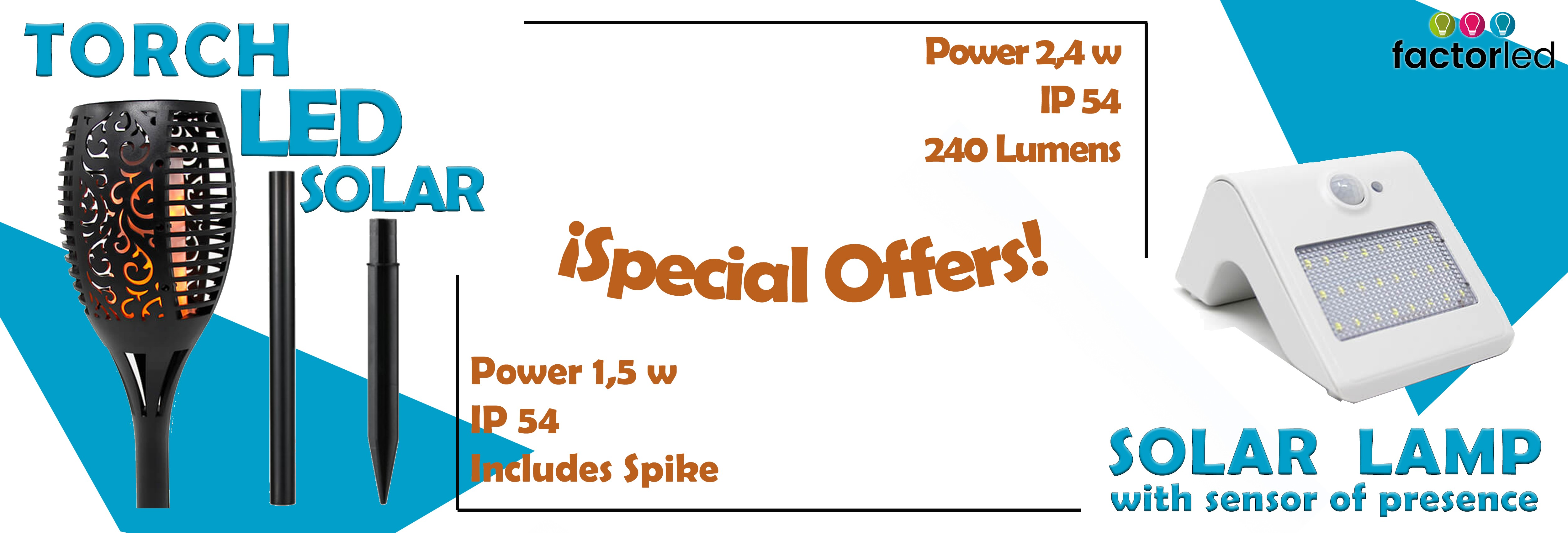 Special offers Solar LED